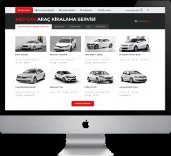 Rent A Car - V1 Hazır Web Sitesi