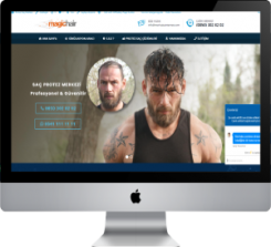 Protez Saç Merkezi | Hazır Web Sitesi