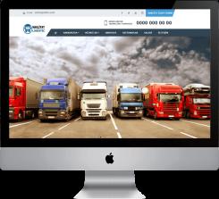 Nakliye Lojistik - Hazır Web Sitesi V2