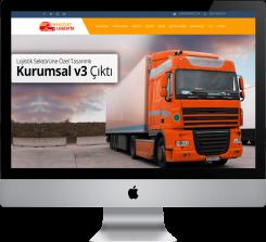 Nakliye Lojistik - Hazır Web Sitesi V1