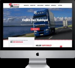 Nakliye Lojistik - Hazır Web Sitesi V3