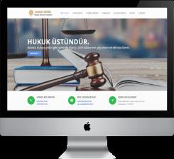 Avukat / Hukuk Bürosu Hazır Web Sitesi